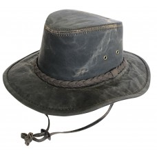Scala Drover Waxed Cotton Hat