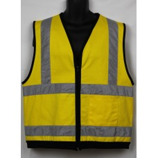 Work Wear Safety Vest breathable cotton drill M/L