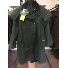 Aussie 3/4 Coat XL Heritage Green Durapel (waterproof cotton)