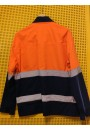 Work Wear Jacket, LARGE, water & grease repellent, hi-viz, unisex